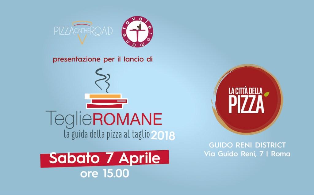 Teglie Romane - Presentazione a La Città della Pizza - 7 aprile 2018