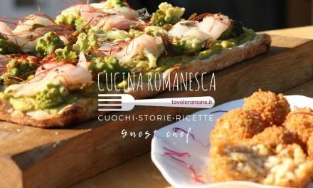 Cucina Romanesca: Broccoli e Arzilla secondo pizzeria Sancho di Fiumicino
