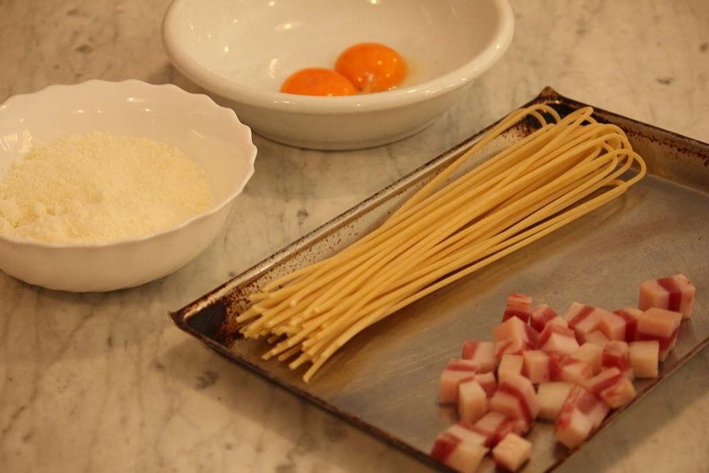 Cucina Romanesca - carbonara