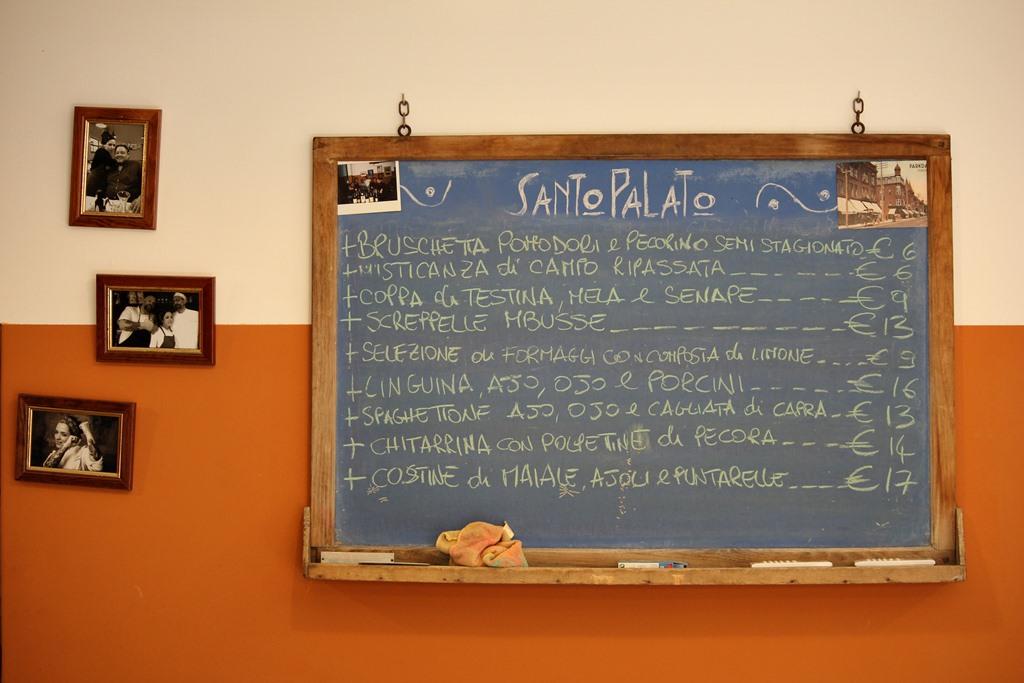 Cucina Romanesca - lavagna