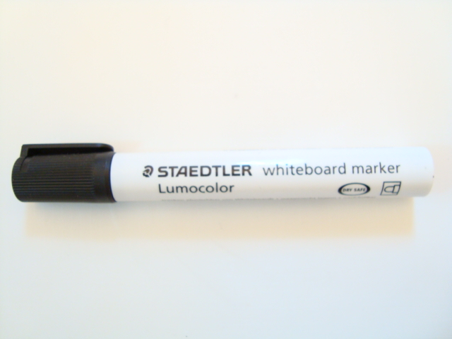 Staedtler Lumocolor Whiteboard Marker Black  105  Thats a Wrap Consumables Superstore