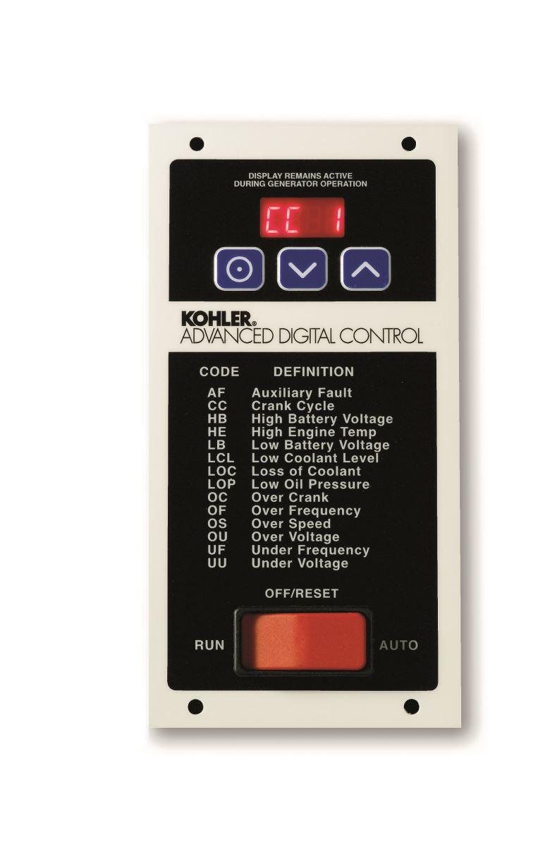 hight resolution of generator controls
