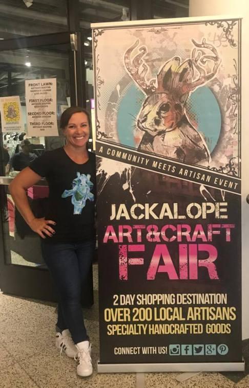 Guess who's back, Jackalope, Jackalope Art Fairs, Denver Art, Art and Craft Fair, Mcnichols Building