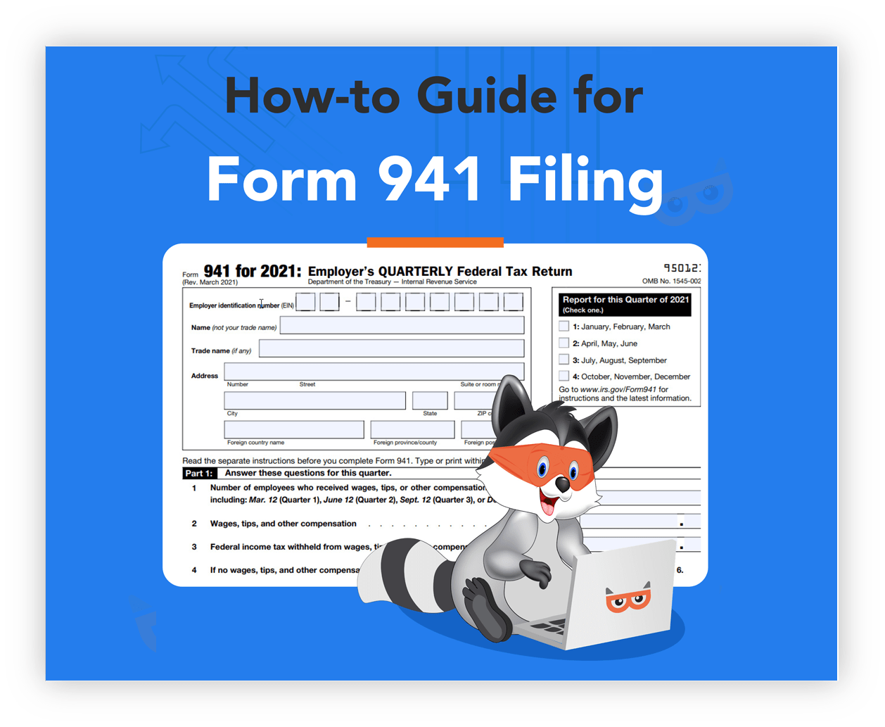 Download Irs Form 941 Worksheet 1 Template For Free