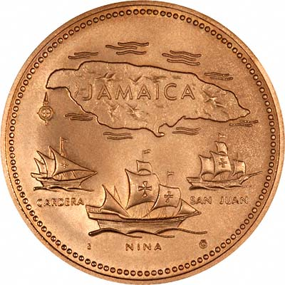 Jamaican Gold Coins  Jamaica  Chards  Tax Free Gold