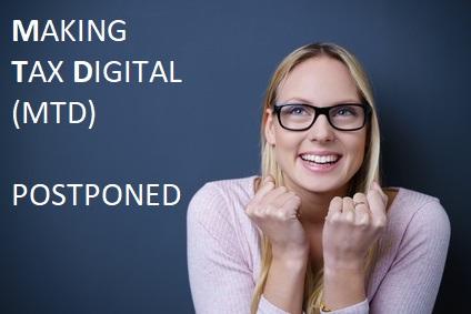 Making Tax Digital Postponed July 2017