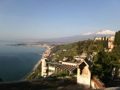 Escursione dal porto di Catania Etna Taormina
