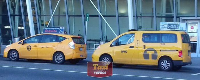 Такси в Аэропорту Нью-Йорка: гибрид Приус и минивэн