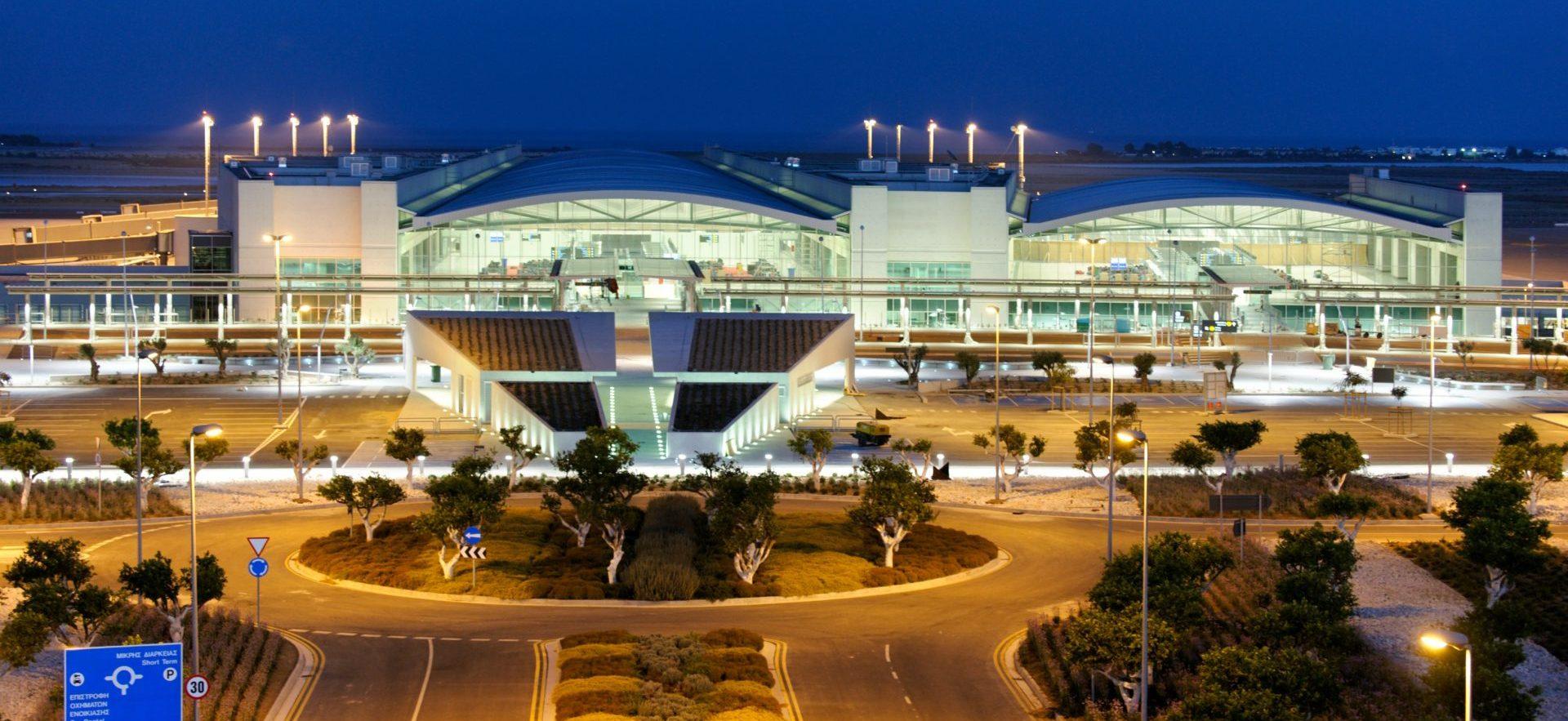 Larnaca Airport - the main airlock of Cyprus 95