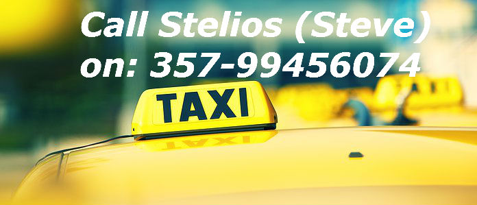 contact taxi2go cyprus stelios