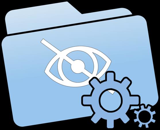 Membuka Hidden Folder