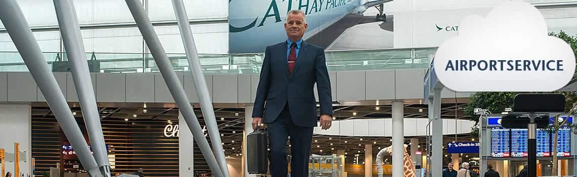 Airportservice: Düsseldorf, Schiphol, Brussel / Zaventem, Eindhoven, Luik, Charleroi, Köln/Bonn, Weeze, Dortmund en ….