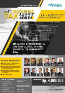 summit tax indonesia 2018