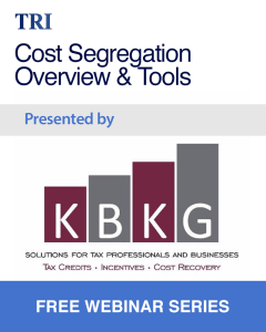 Cost Segregation Overview & Tools