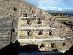Templo de Quetzalcoatl, Ciudadela, Teotihuacan
