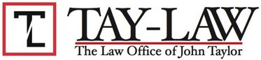 Tay-Law: The Law Office of John Taylor Logo