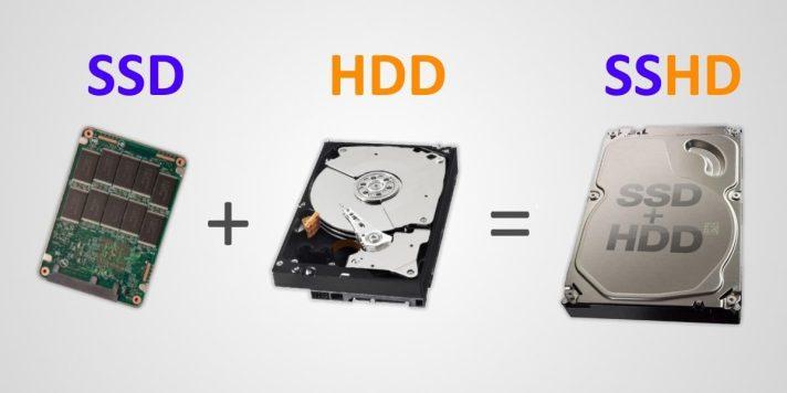 SSD + HDD