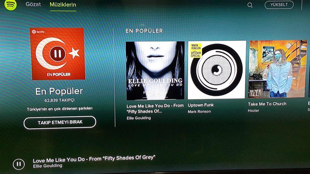 Spotify Playstation