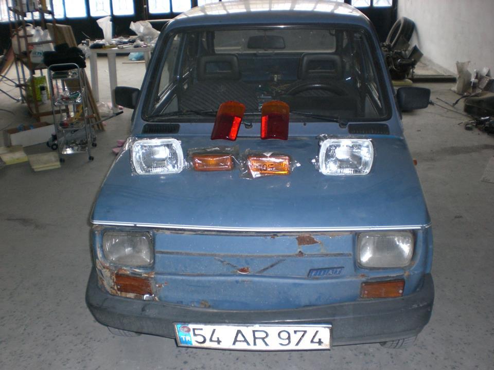 En ucuz Elektrikli Araba- Fiat 126 E-Bis | Tayfunca Teknoloji