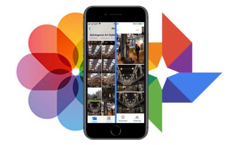 iCloud'dan Google Photos'a Kopyala