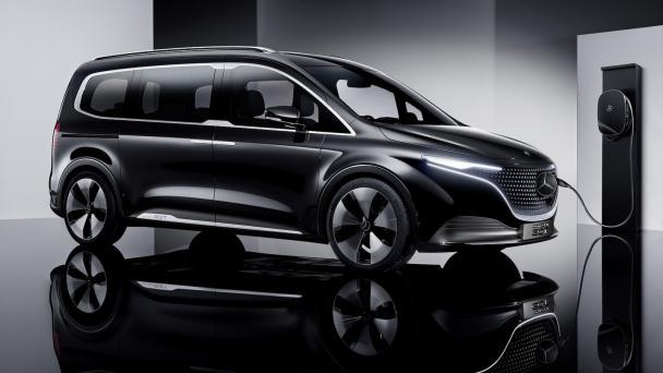 Mercedes EQT E-Van Prototip Görseli | Tayfunca Teknoloji