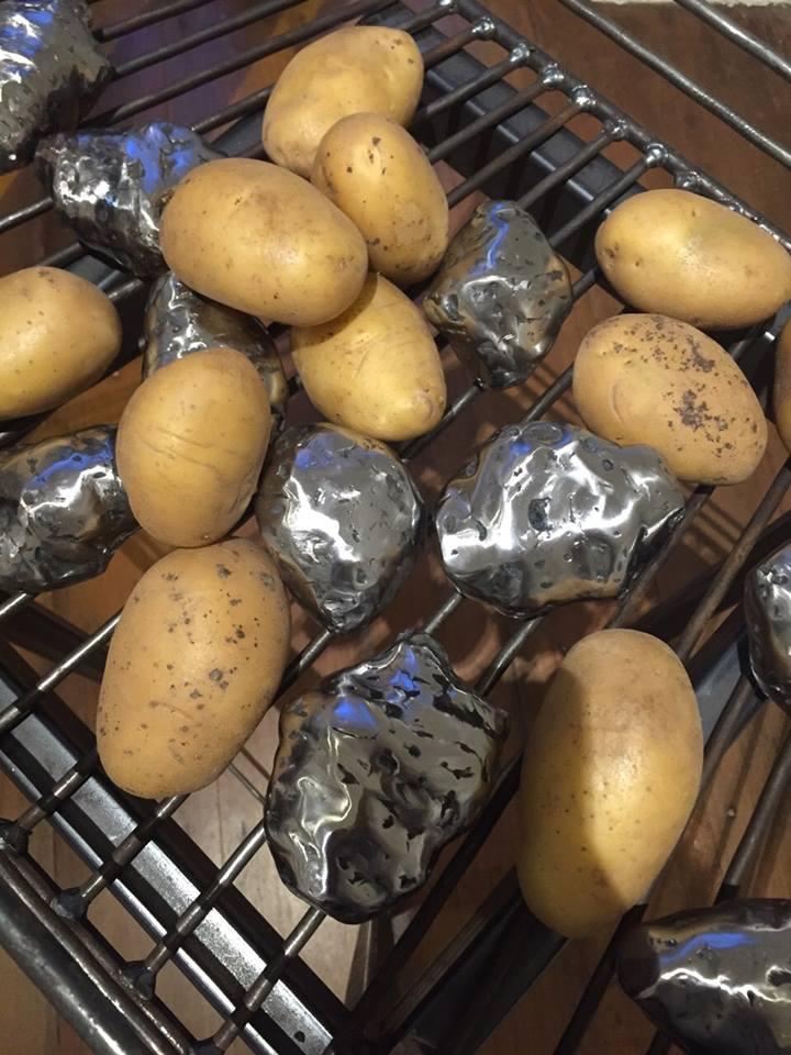 Naked Potatoes - Close up (2015)