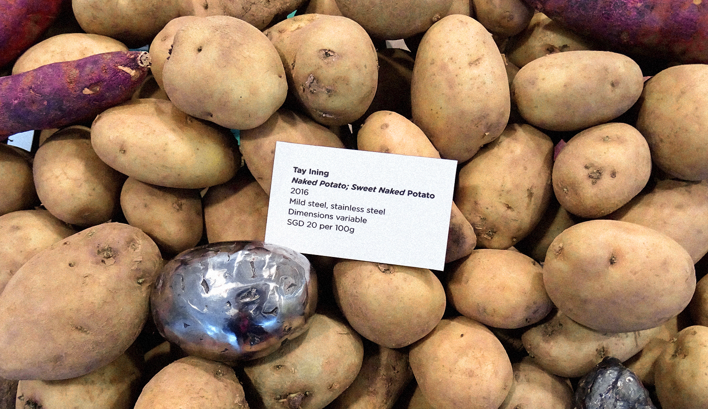Tay-Ining-Naked-Potato-Affordable-Art-Fair
