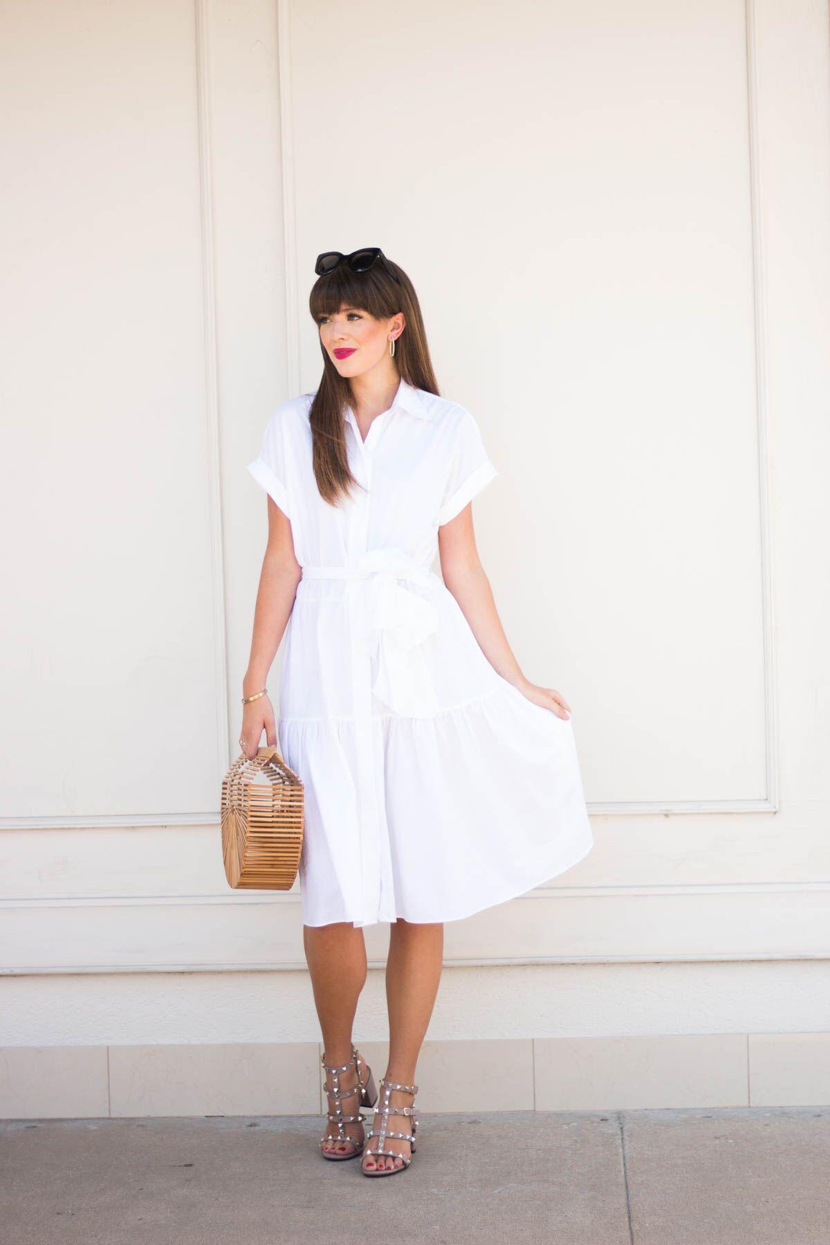 475edec66fa White Dress + Nordstrom Anniversary Sale: Fav Dresses - Tayler Malott