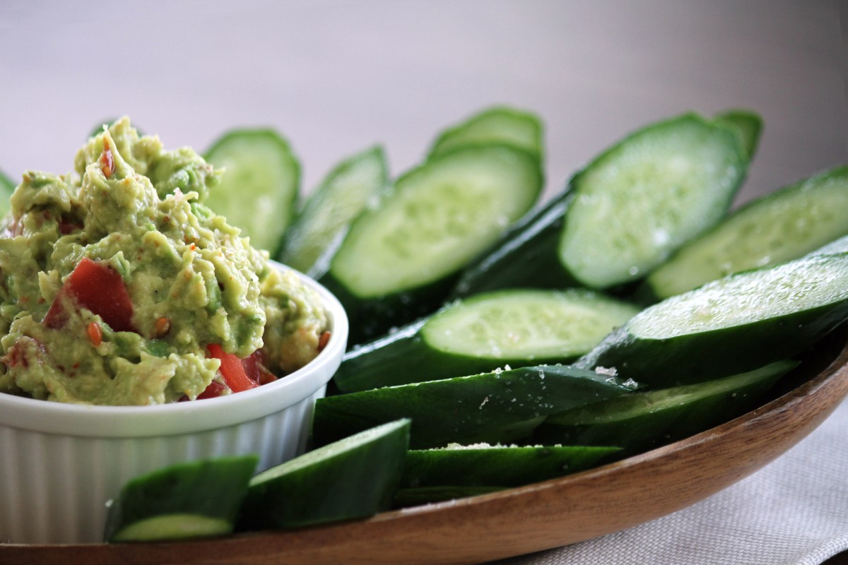 whole 30 paleo chips and guacamole