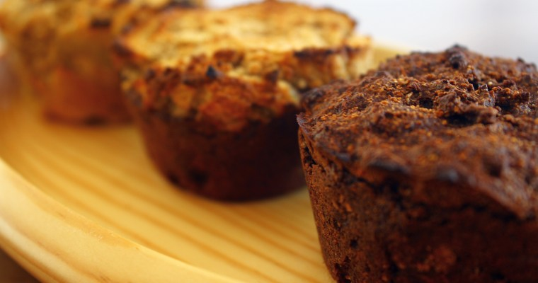 4 Ingredient Plant-Based Vegan & Paleo Muffins