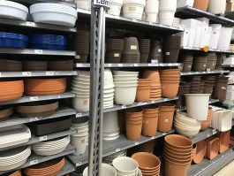 gardening supplies: containers