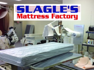 Slagle S Mattress Factory Showroom Egyptian Cotton Bed