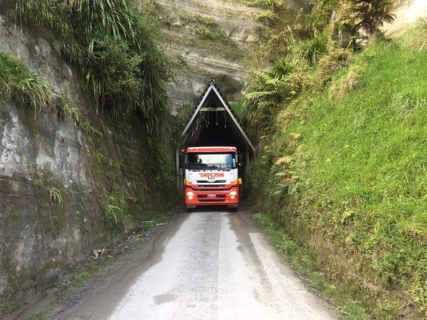 Brendan - truck via tunnel