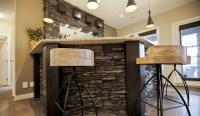 Rustic Stone Veneer Bar | Under $500 - Taylor Concrete Inc.