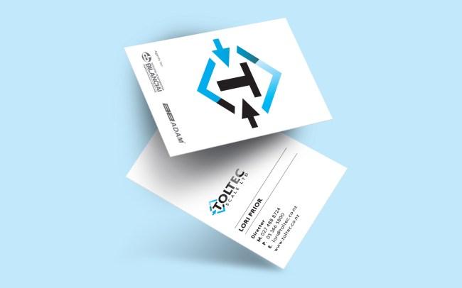 Toltec Scale Ltd Business Card