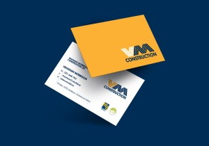 Vaughan Morrison Construction Business Card