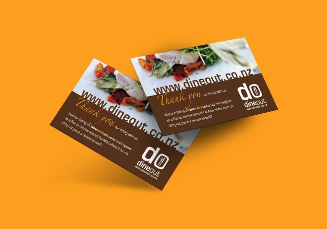 DineOut Restaurant Card