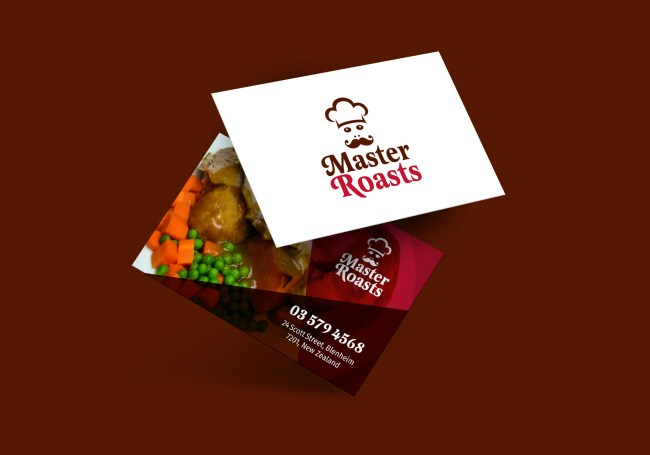 Master Roasts Business Card