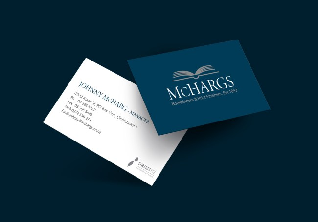 McHargs Business Card