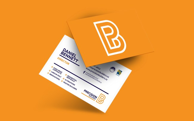 Precision Builders Business Card