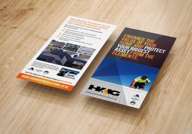 Haig Roofing Solutions Flyer