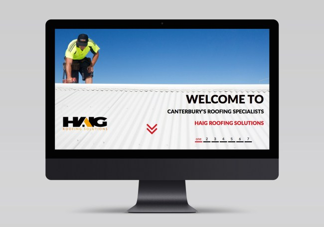 Haig Roofing Solutions Website