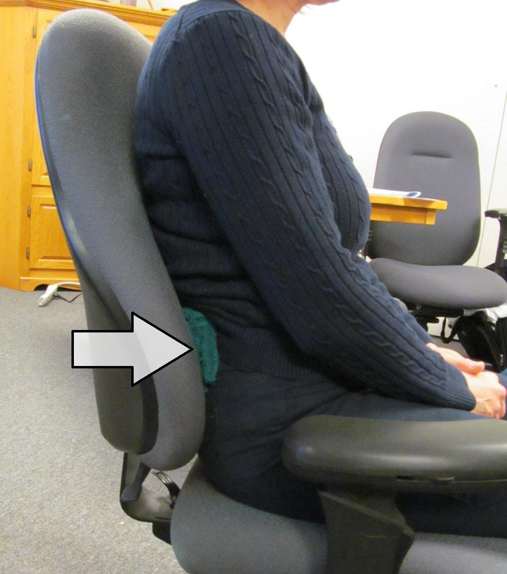 office chair towel monoblock cover for sale philippines the rolling lumbar roll and other portable cushions