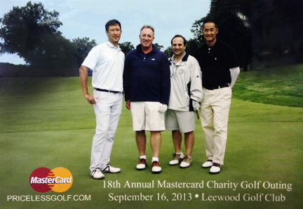 Priceless Day on the Links at the MasterCard Charity Golf