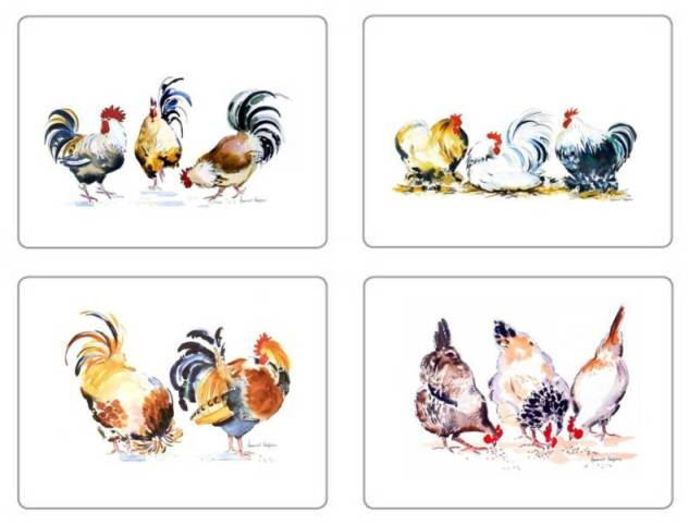 Chicken Groups Placemats