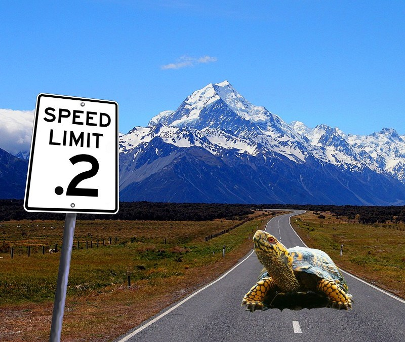 The paradox of speed