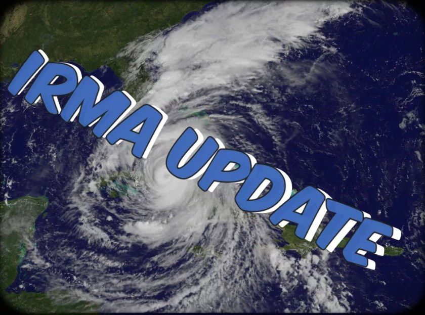 Hurricane Irma and Cosmetic Organizer Giveaway
