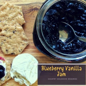 Blueberry Jam and Country Childhood Memories