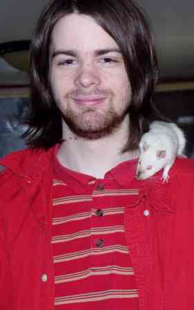 Daniel and his pet rat