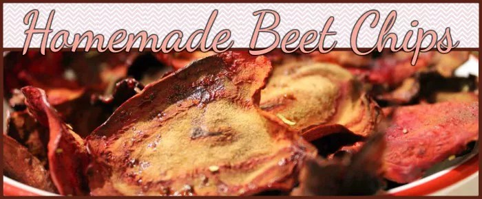 Homemade Beet Chips recipe